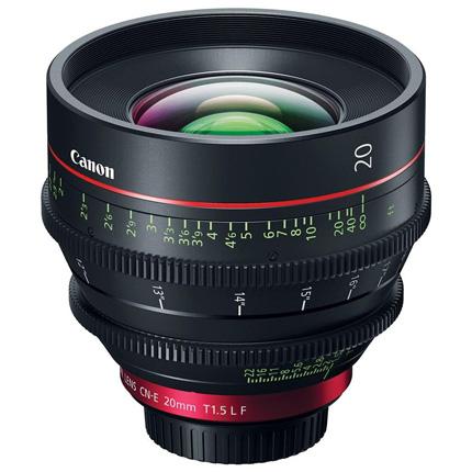 Canon CN-E20mm T1.5 L F Prime Cine Lens