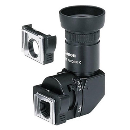 Canon Angle Finder C + Adapter