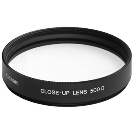 Canon 52mm close up Lens Type 500D Filter