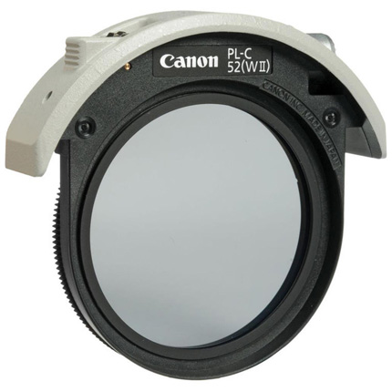 Canon 52mm Drop in PL-C Filter II