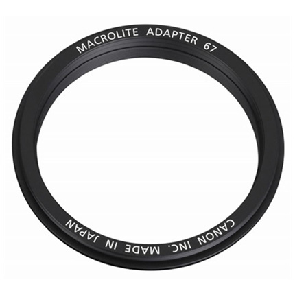 Canon Macrolite Adapter 67C for EF 100mm f/2.8L