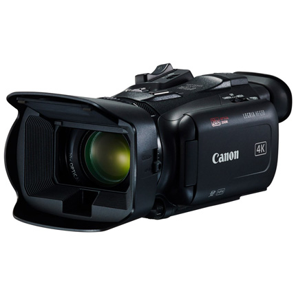 Canon LEGRIA HF G50 4k compact camcorder Power Kit