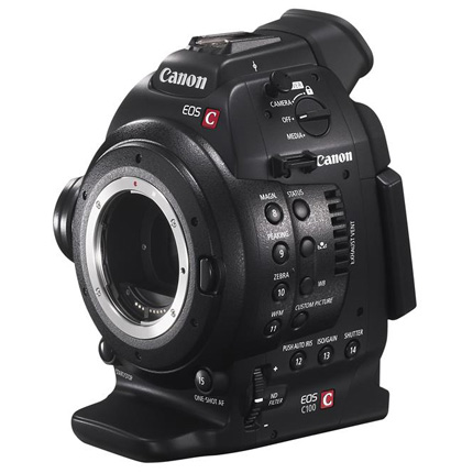 Canon EOS C100 Body (EF Mount) with DAF