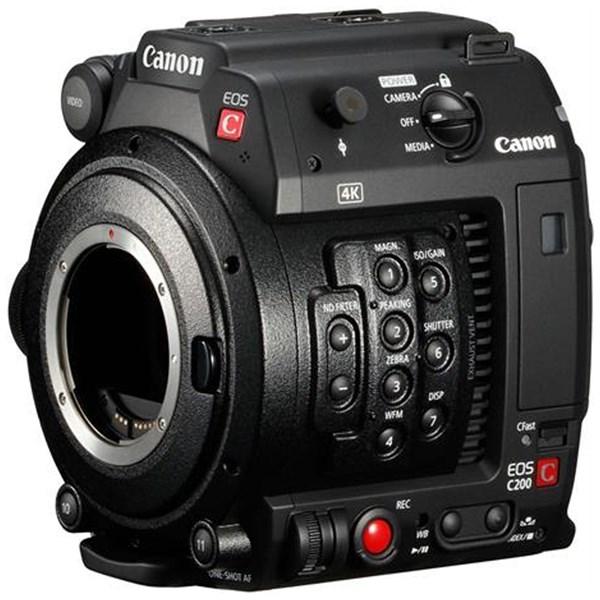 Canon Cinema EOS C200 EF Professional Camcorder & 128gb Cfast card