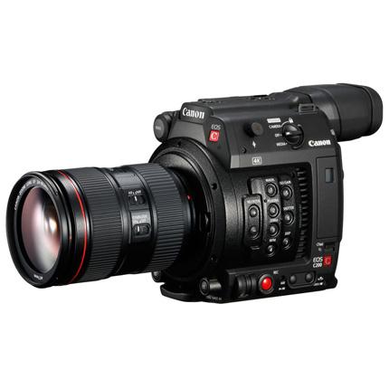 Canon Cinema EOS C200 EF Professional Camcorder + EF 24-105mm f/4 IS USM II Lens