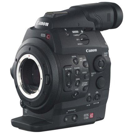 Canon EOS C300 Body (EF Mount) With DAF