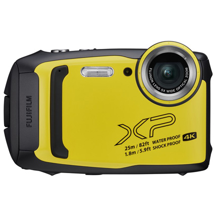 Fujifilm FinePix XP140 Digital Action Camera Yellow