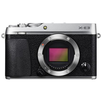 Fujifilm X-E3 Mirrorless Camera Body Silver