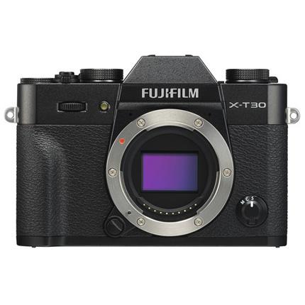 Fujifilm X-T30 Mirrorless Digital Camera Body Black