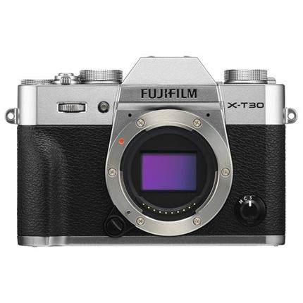 Fujifilm X-T30 Mirrorless Digital Camera Body Silver