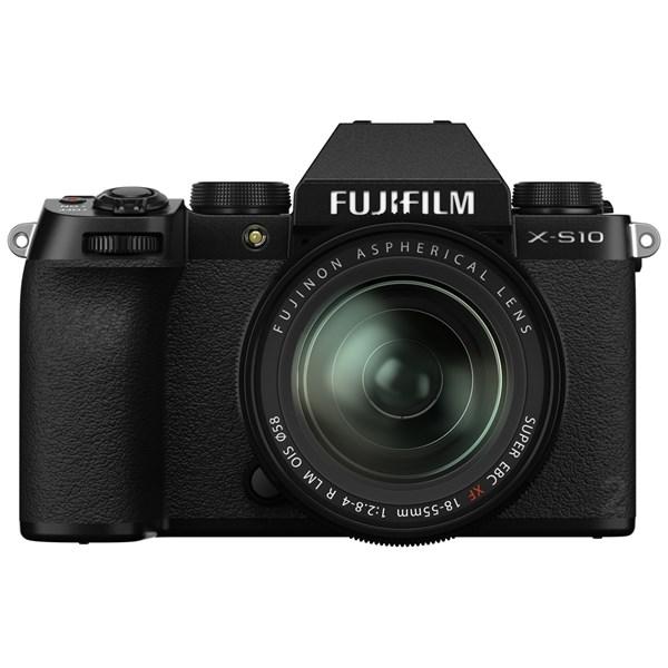 Fujifilm X-S10 With Fujinon XF 18-55mm f/2.8-4 R LM OIS Lens Kit
