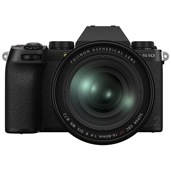 Fujifilm X-S10 Camera With Fujinon XF 16-80mm f/4 R OIS WR Lens Kit