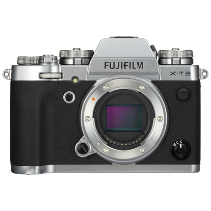 Fujifilm X-T3 Mirrorless Camera Silver