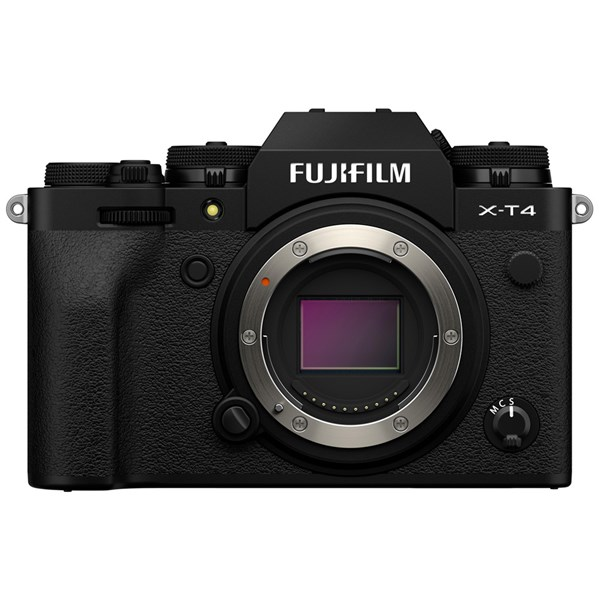 Fujifilm X-T4 Mirrorless Camera Body Black