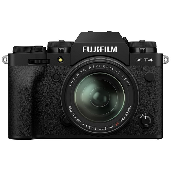 Fujifilm X-T4 Mirrorless Camera With XF 18-55mm f/2.8-4 Lens Kit Black