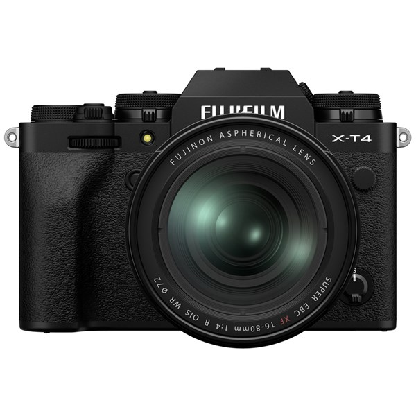 Fujifilm X-T4 Mirrorless Camera With XF 16-80mm f/4 Lens Kit Black