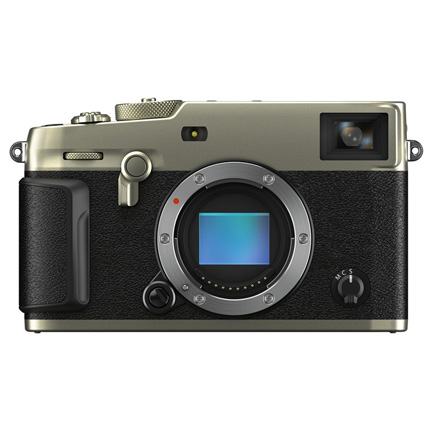 Fujifilm X-Pro3 Mirrorless Camera Body - Dura Silver Finish