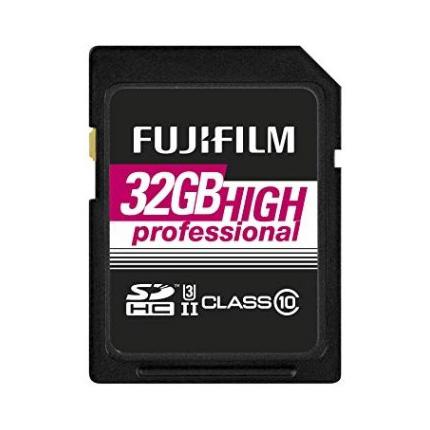 Fujifilm 32GB SDHC UHS II 180/285
