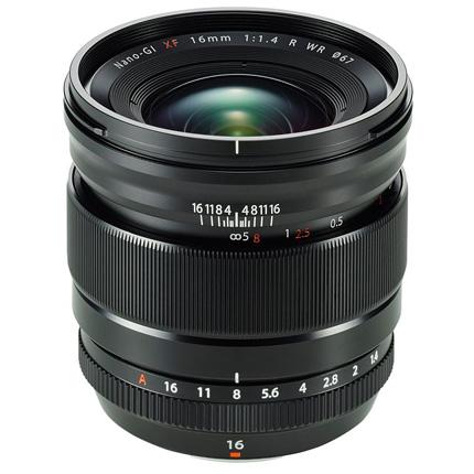 Fujifilm XF 16mm f1.4 R WR Super Wide Angle Prime Lens
