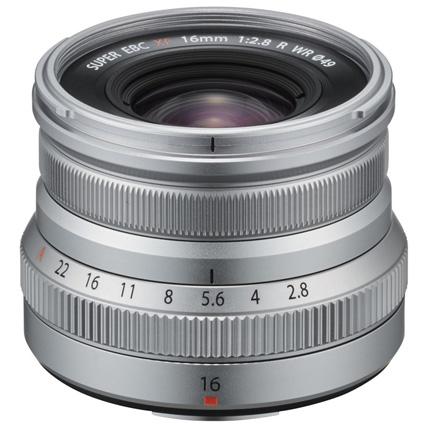 Fujifilm XF 16mm f2.8 R WR Super Wide Angle Prime Lens Silver