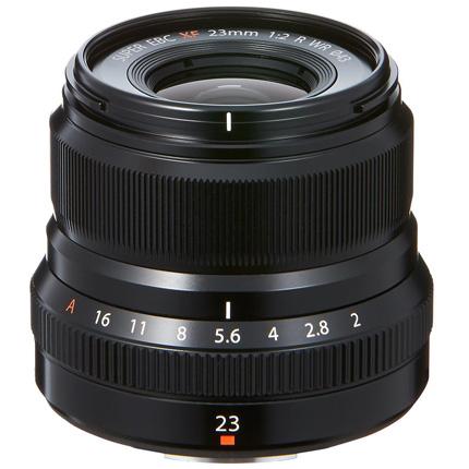 Fujifilm 23mm f2 R WR XF Wide Angle Prime Lens Black