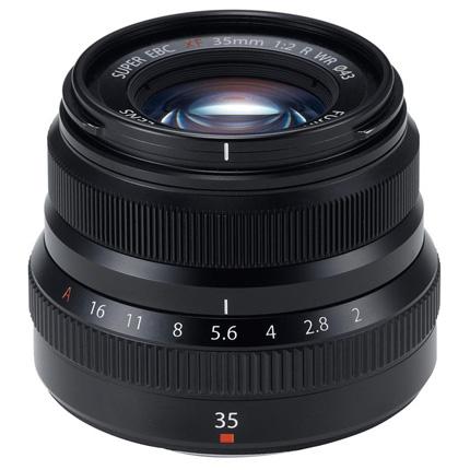 Fujifilm XF 35mm f2 R WR Standard Prime Lens Black