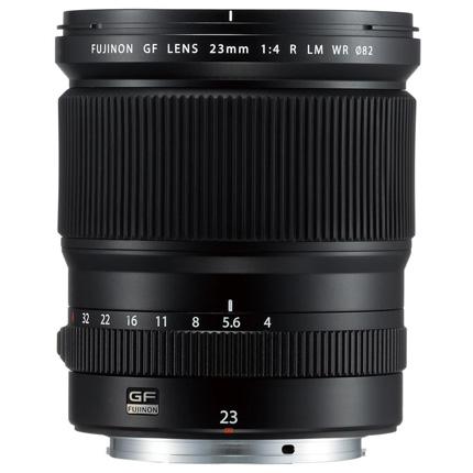 Fujifilm GF 23mm f4 R LM WR Medium Format Wide Angle Lens