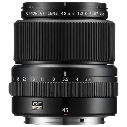 Fujifilm GF 45mm f/2.8 R WR Medium Format Prime Lens