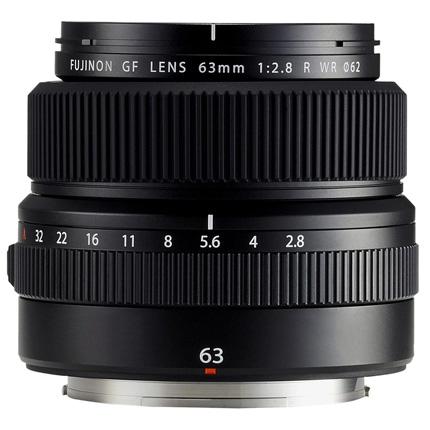 Fujifilm GF 63mm f2.8 R WR Medium Format Prime Lens