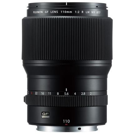 Fujifilm GF 110mm f2 R LM WR Medium Format Telephoto Lens