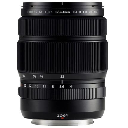 Fujifilm GF 32-64mm f4 R LM WR Medium Format Zoom Lens