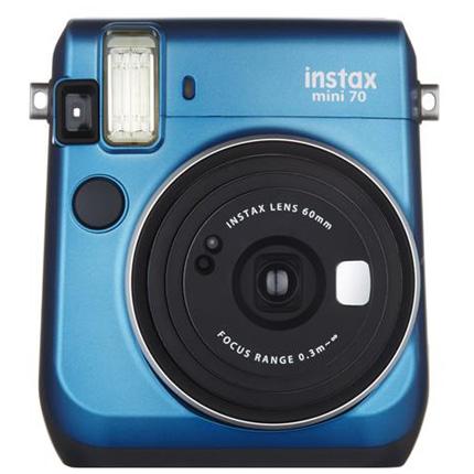 Fujifilm Instax Mini 70 Blue Instant Camera + 10 Shots