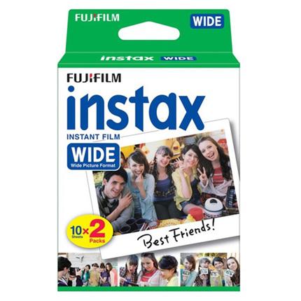 Fujifilm Instax Wide Format Instant Film Twinpack