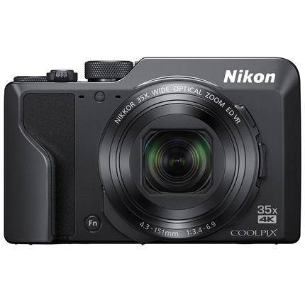Nikon Coolpix A1000 Compact Digital Camera Black