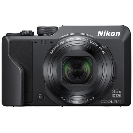 Nikon Coolpix A1000 Compact Digital Camera Black