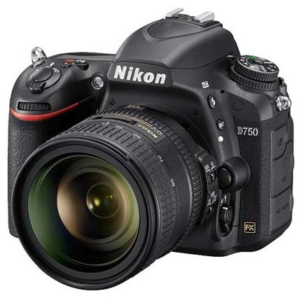 Nikon D750 DSLR With AF-S Nikkor 24-85mm f/3.5-4.5G ED VR Lens Kit