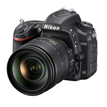 Nikon D750 DSLR With AF-S Nikkor 24-120mm f/4G ED VR Lens Kit