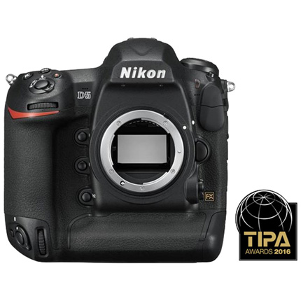Nikon D5 Digital SLR Camera Body Dual CF Version