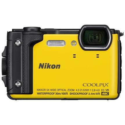 Nikon Coolpix W300 Waterproof Camera Yellow