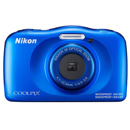 Nikon Coolpix W150 Waterproof Compact Camera Blue