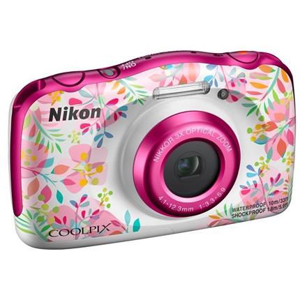 Nikon Coolpix W150 Waterproof Compact Camera Flowers