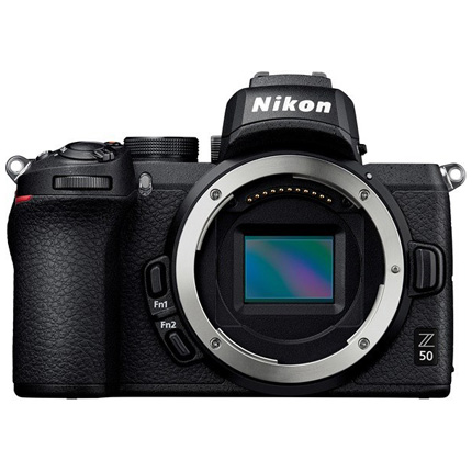 Nikon Z 50 Mirrorless Camera Body With FTZ Adapter