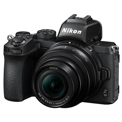 Nikon Z 50 Mirrorless Body With Nikkor Z DX 16-50mm f/3.5-6.3 VR Lens Kit