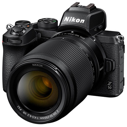 Nikon Z 50 Mirrorless Body With Nikkor Z DX 16-50 VR & 50-250 lens