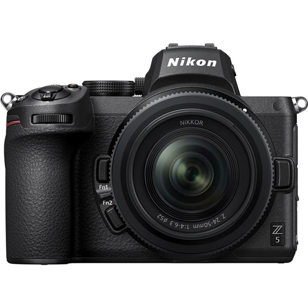Nikon Z5 Camera With 24-50mm f/4-6.3 Zoom Lens And FTZ Adaptor Kit