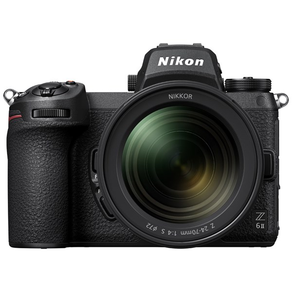 Nikon Z6 II Mirrorless Camera With NIKKOR Z 24-70mm f/4 S Lens Kit