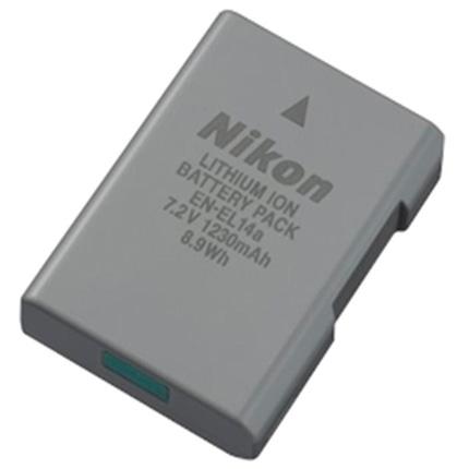 Nikon EN-EL14a (ENEL14a) DSLR Camera Battery