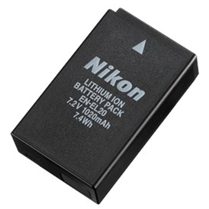 Nikon EN-EL20 rechargebale lithium ion Battery