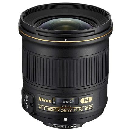 Nikon AF-S Nikkor 24mm f/1.8G ED Wide Angle Prime Lens