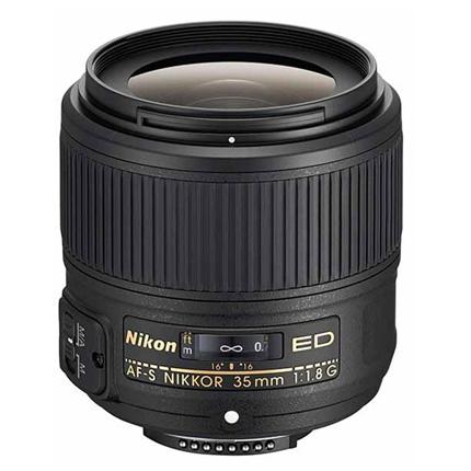 Nikon AF-S Nikkor 35mm f/1.8G ED Standard Prime Lens